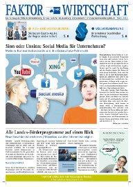 Cover der Märzausgabe 2013 von Faktor Wirtschaft