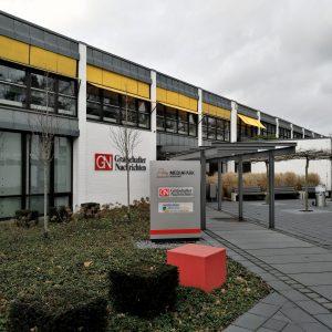 Verlagsgebäude der Grafschafter Nachrichten in Nordhorn.