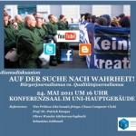 """Podiumsdiskussion """"Bürgerjournalismus contra Qualitätsjournalismus"""""""