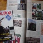 Artikel über Keniareise in Scouting 4/2010
