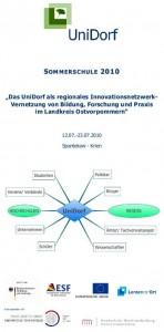 UniDorf - Sommerschule 2010